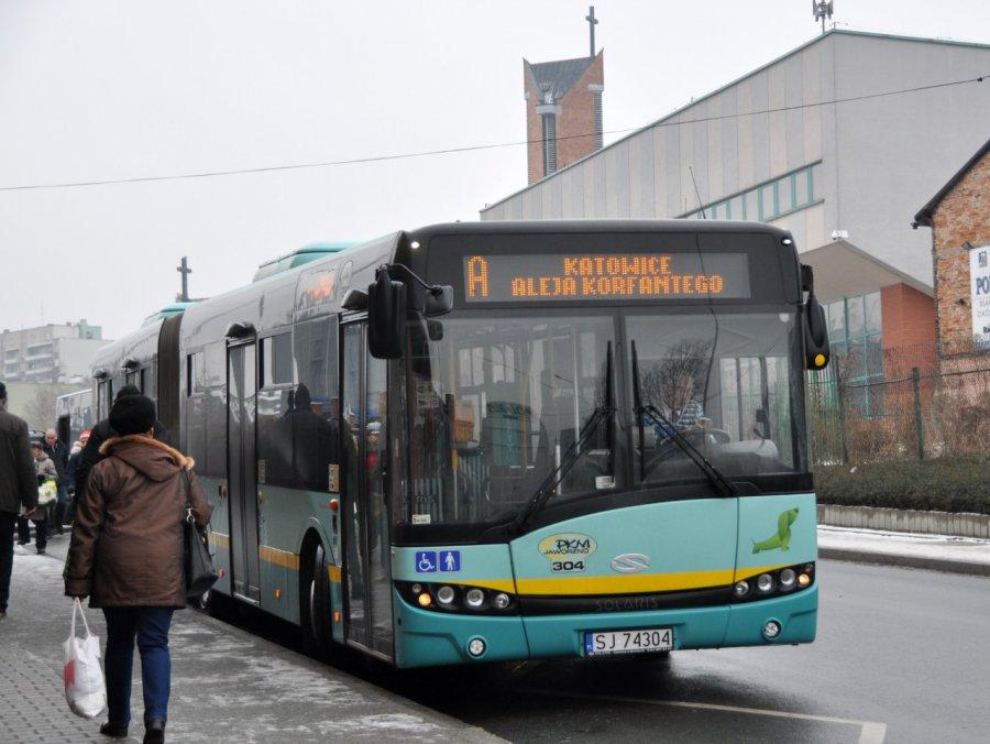 Więcej autobusów pojedzie do Katowic i z powrotem