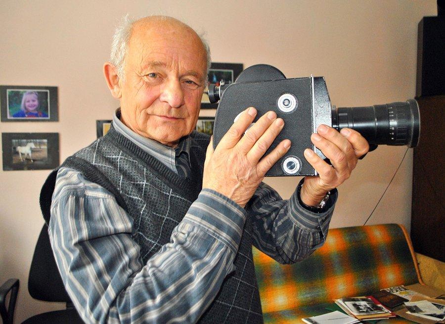 Andrzej Stec. Zrobiłem tysiące zdjęć ludzi i lokomotyw