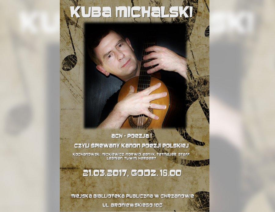Kuba Michalski zaśpiewa w chrzanowskiej bibliotece