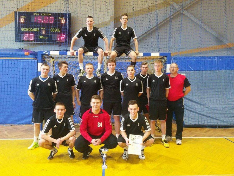 Szczypiorniści Zespołu Szkół w Libiążu najlepsi w wojewódzkim półfinale
