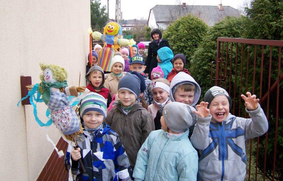 Pierwszy Dzień Wiosny w Przedszkolu Samorządowym nr 3 w Trzebini