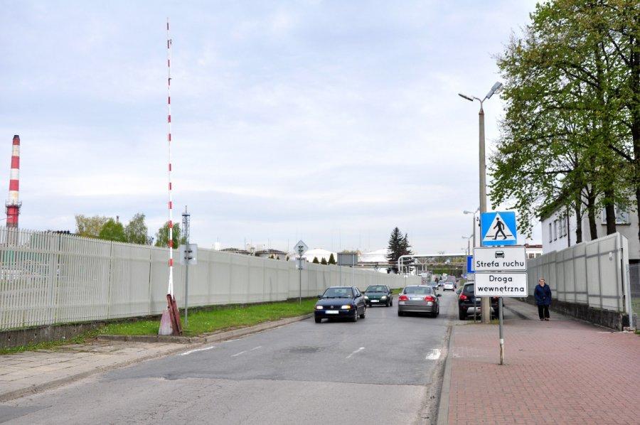 Rafineria rozważa zamknięcie ulicy Kruczkowskiego