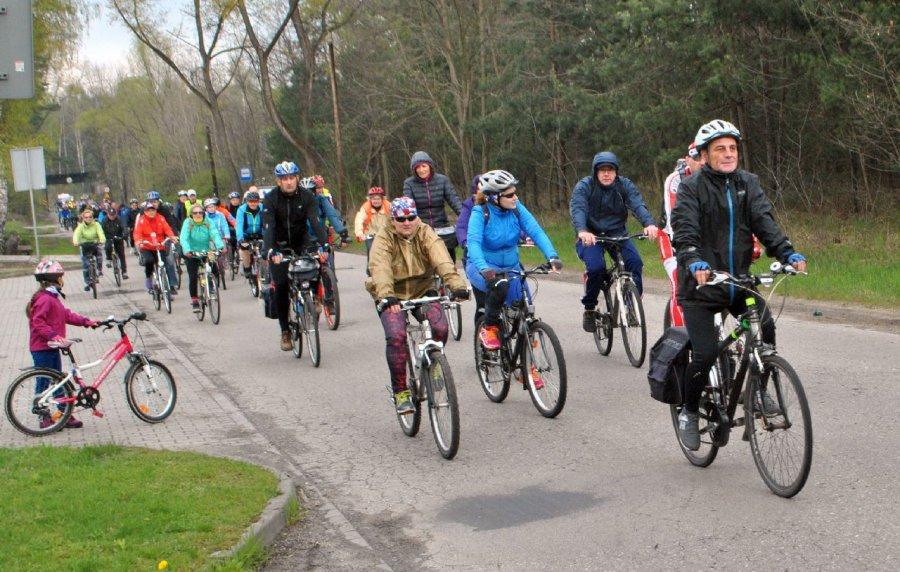 Ponad 130 osób uczestniczyło w papieskim rajdzie rowerowym