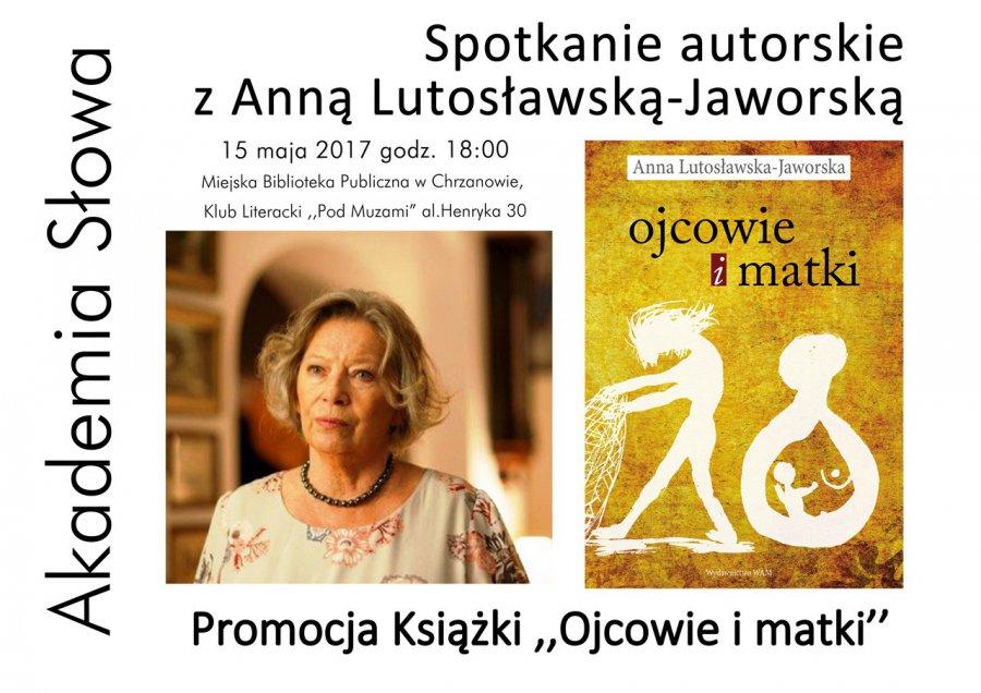Spotkanie z Anną Lutosławską-Jaworską