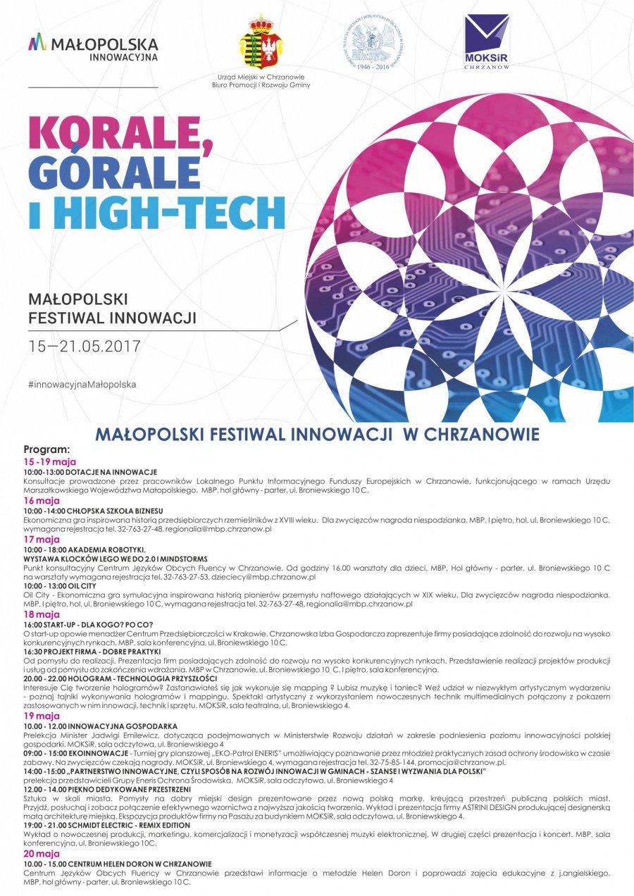 Małopolski Festiwal Innowacji w Chrzanowie