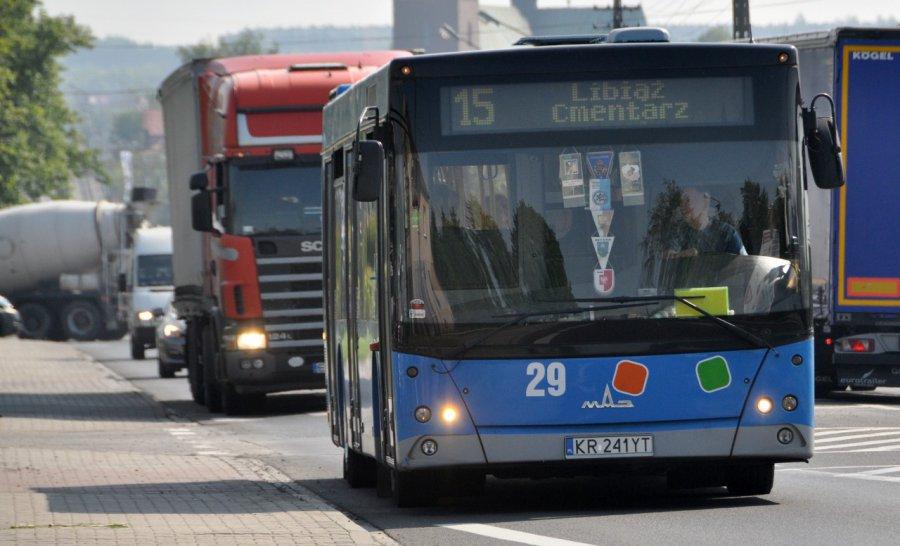 Autobusy nie jeżdżą pod kopalnię