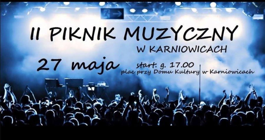 II Piknik Muzyczny w Karniowicach