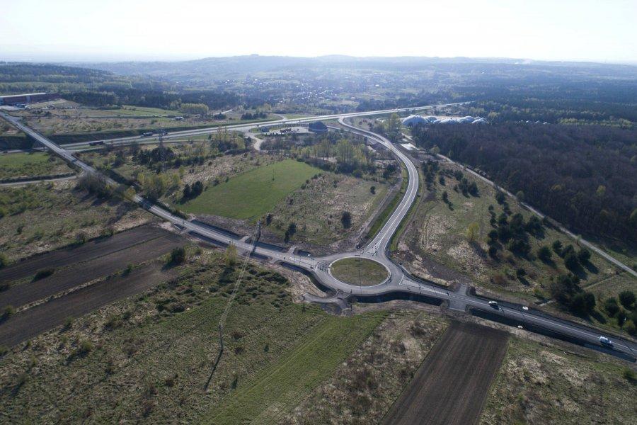 Węzeł Rudno na autostradzie A4 otwarty (WIDEO)