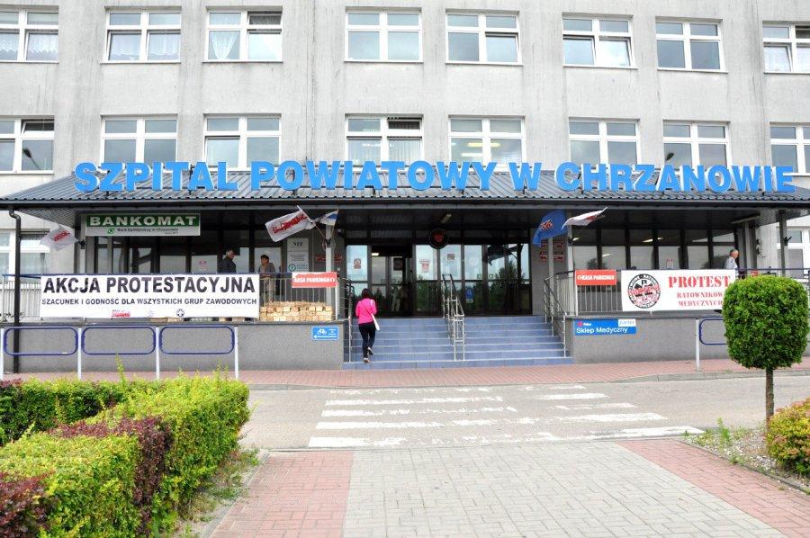 Związkowcy wznowili akcję protestacyjną w szpitalu