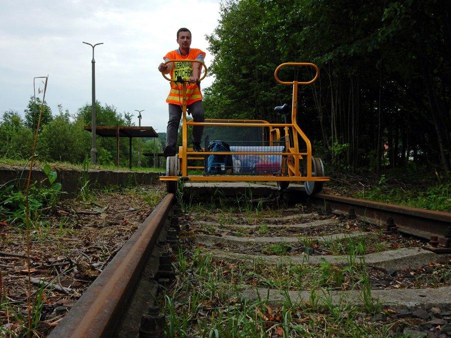 Lokalna Kolej Drezynowa zaczęła regularne kursy (WIDEO)