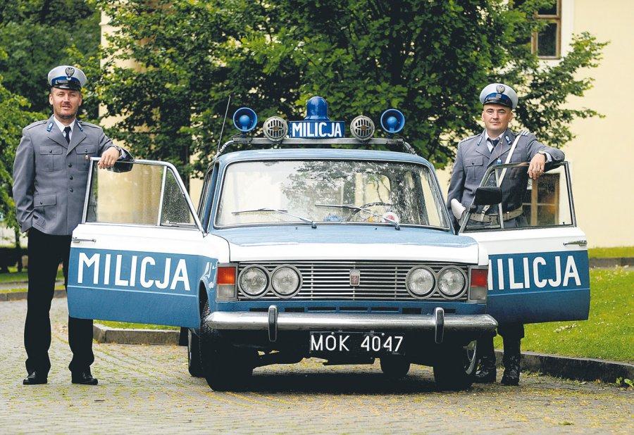 PIOTR KALINOWSKI, PAWEŁ KALINOWSKI. Kalinowscy jak prawdziwi milicjanci