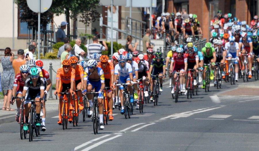 Tour de Pologne. Kolarze przejechali przez ziemię chrzanowską