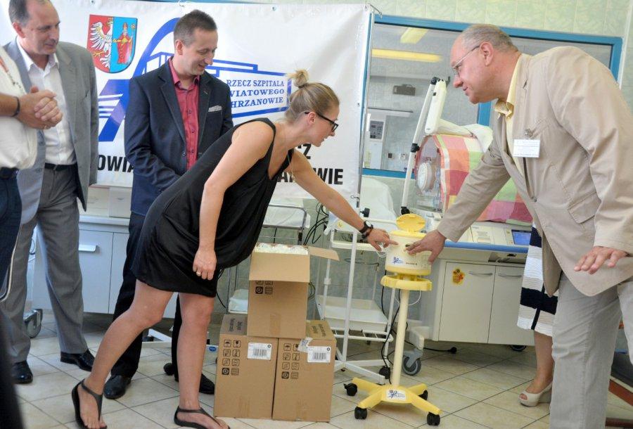 Nowoczesny sprzęt trafił na oddział noworodków