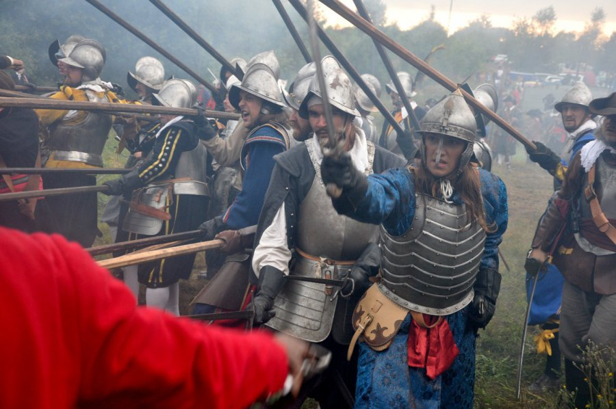 To była zacięta walka o zamek Tenczyn (wideo)