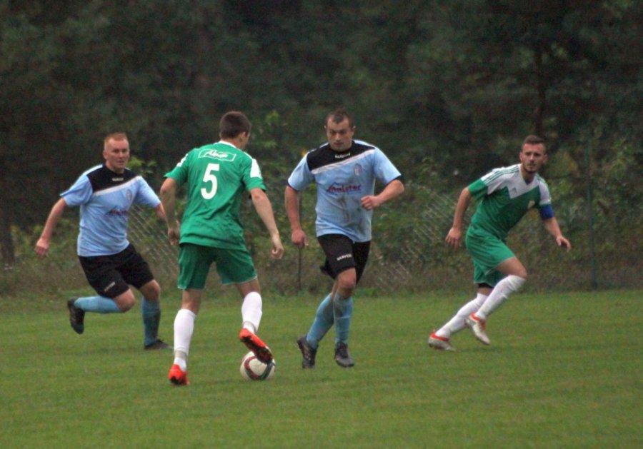 Bez Bieska piłkarze Zagórzanki nie dali rady Brzezinie