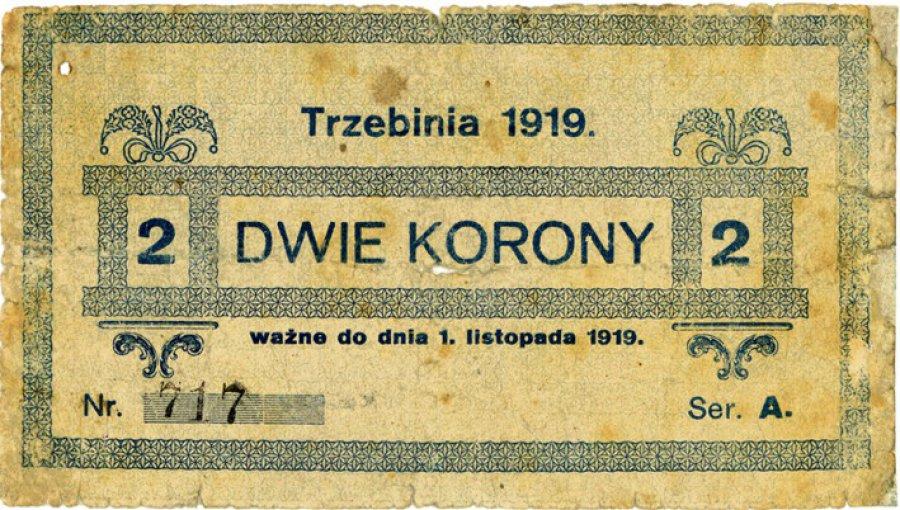 Trzebinia miała swoje banknoty