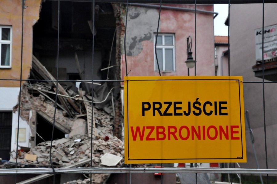 Prokuratura wszczęła śledztwo w sprawie katastrofy budowlanej w Chrzanowie