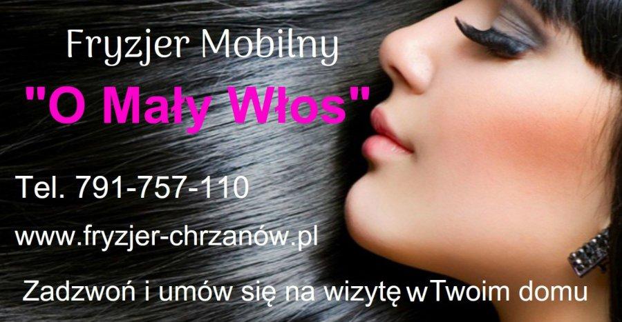 Fryzjer Mobilny O Mały Włos Przelompl Portal Ziemi Chrzanowskiej