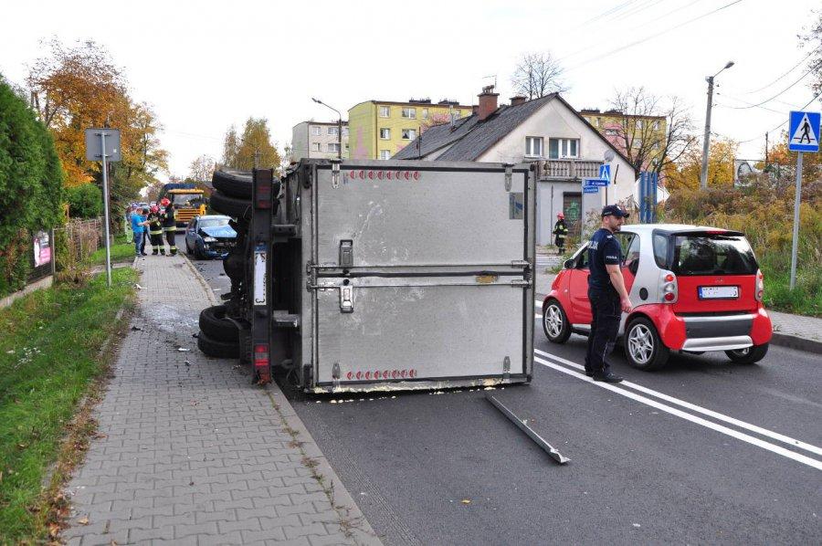 Kierowca uciekł z miejsca zdarzenia