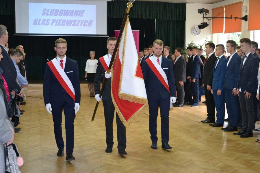 Ślubowanie w Zespole Szkół w Libiążu