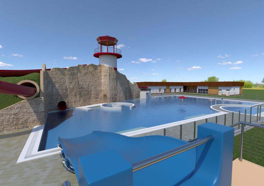Tak ma wyglądać nowy basen (ZDJĘCIA)