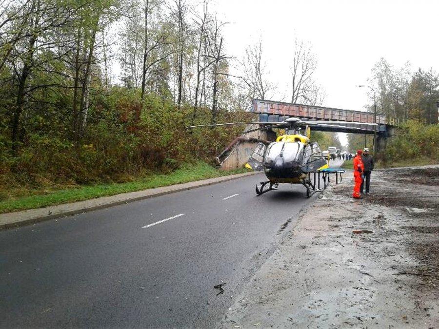 Tragiczny wypadek podczas prac w lesie