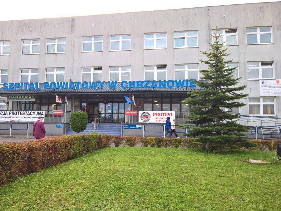 Dzień bez lekarza w chrzanowskim szpitalu