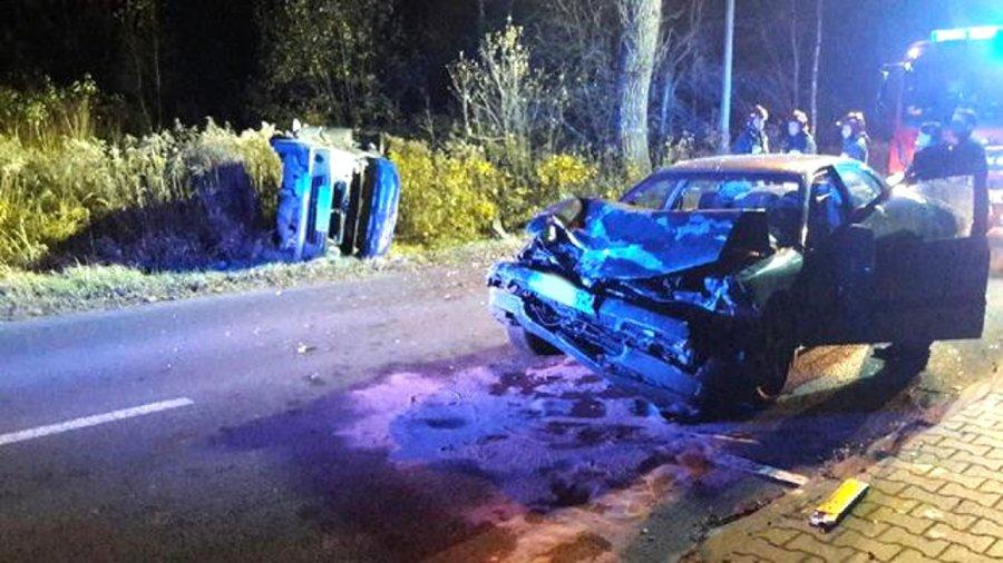 Wypadek na ul. Grunwaldzkiej. Ranna kobieta w szpitalu