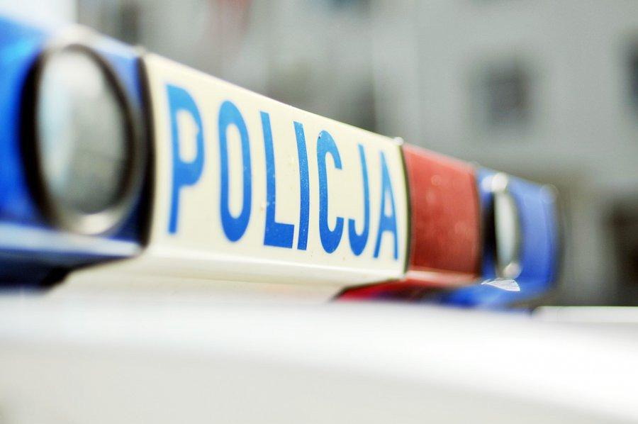 Zderzenie z... policjantem