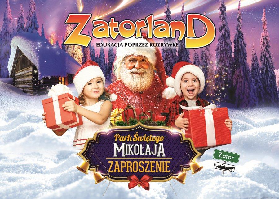 Święty Mikołaj na wyciągnięcie ręki? Tylko w Zatorland!