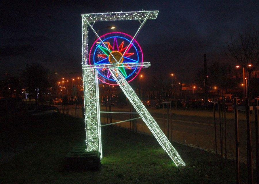 Świąteczne iluminacje robią wrażenie