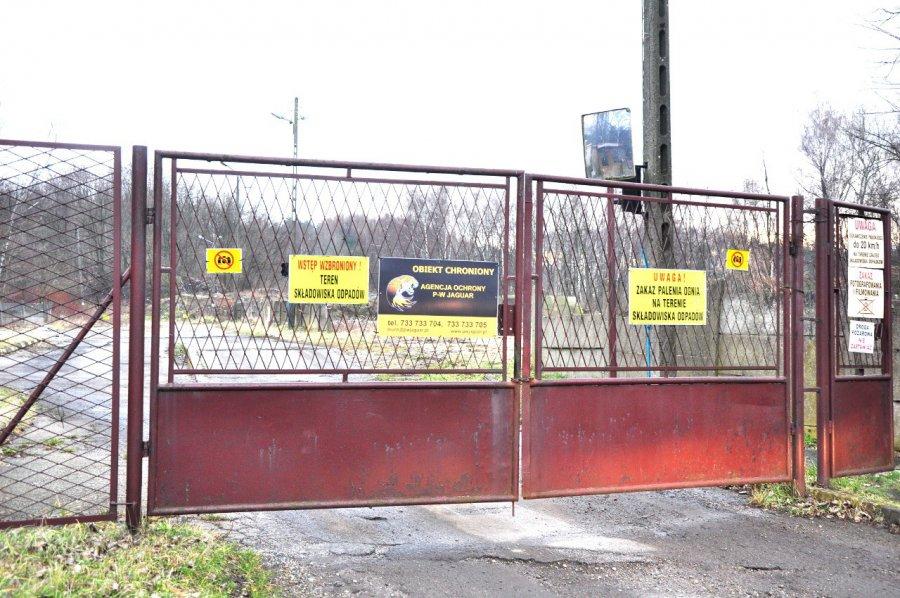 PSZOK w Trzebini zamknięty
