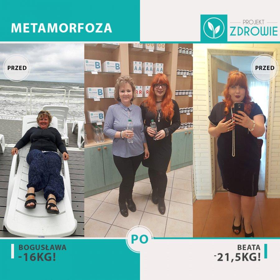 Z pomocą dietetyka schudły ponad 35 kg!