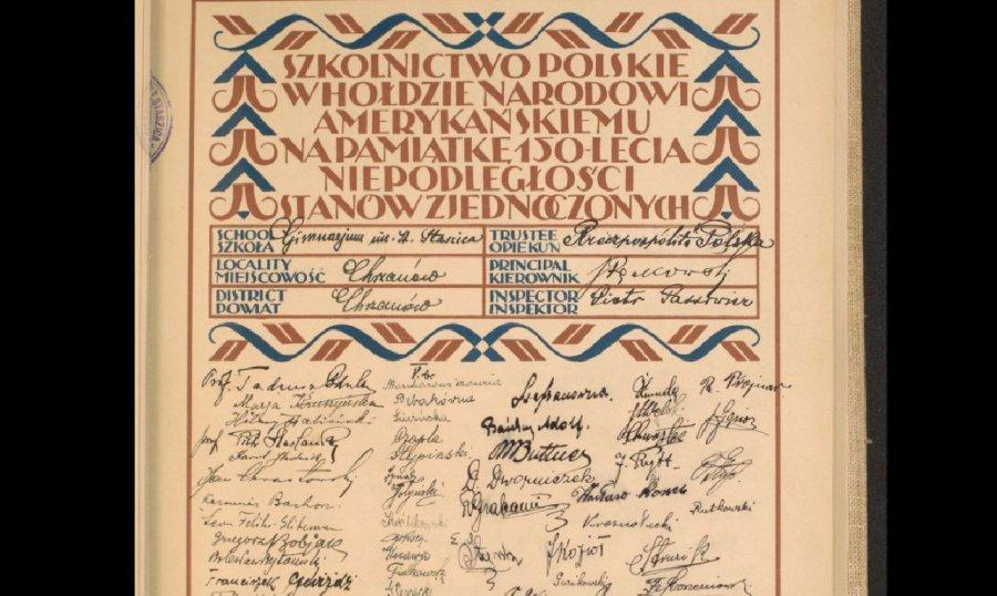 Zobacz podpis swojego przodka sprzed prawie stu lat
