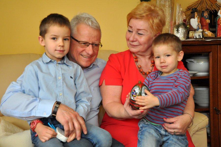 Wnuki dają wiele radości, ale potrafią też zmęczyć