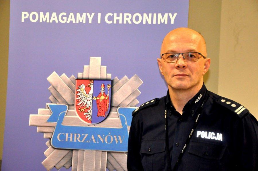 Szef chrzanowskiej policji odwołany ze stanowiska