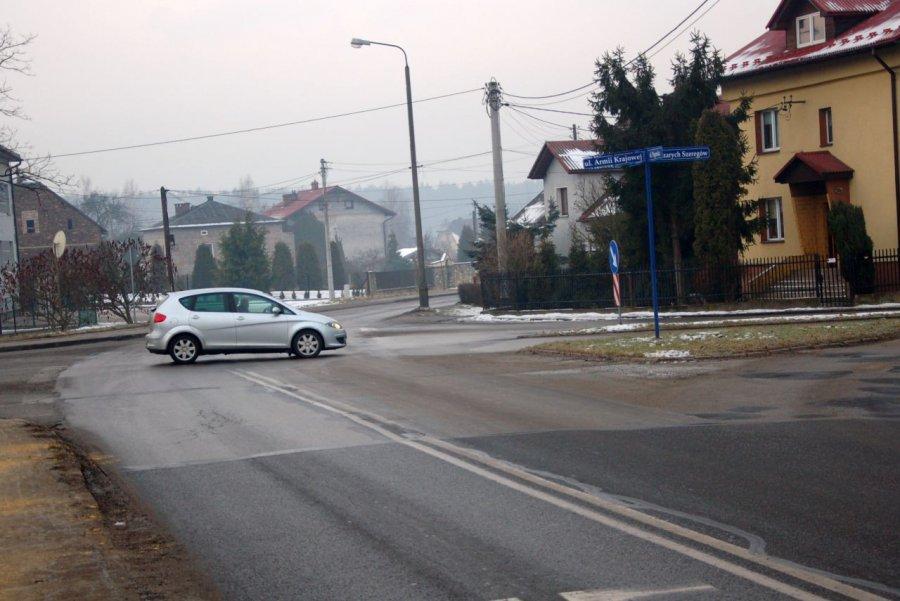 Robotnicy wymienią asfalt, wybudują rondo i drogę rowerową