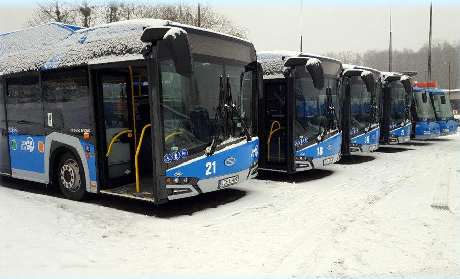 ZKKM zaprezentuje ekologiczne autobusy