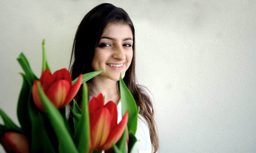 W Dzień Kobiet tulipany stają się pieścipanami