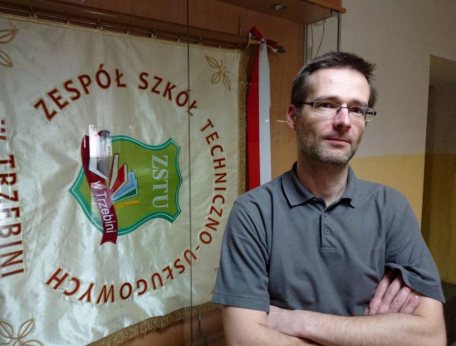 Piotr Brzózka będzie nowym dyrektorem szkoły