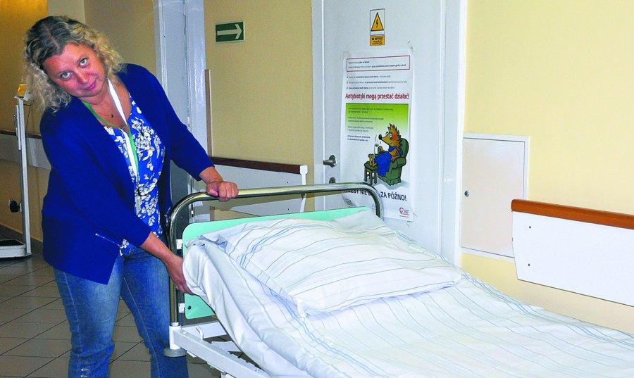 Szpital chce kupić nowe łóżka