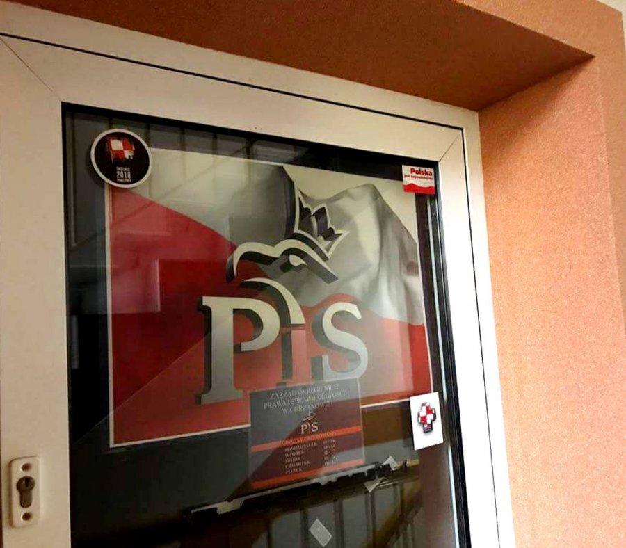 Sprawa ataku na pracownika biura PiS w Chrzanowie do... umorzenia