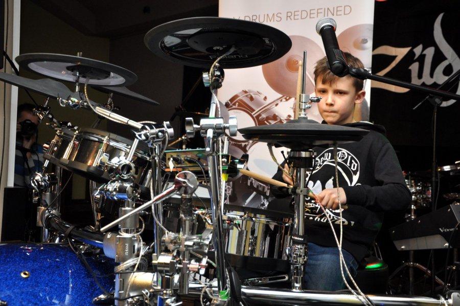 Perkusiści pokazali moc (WIDEO)