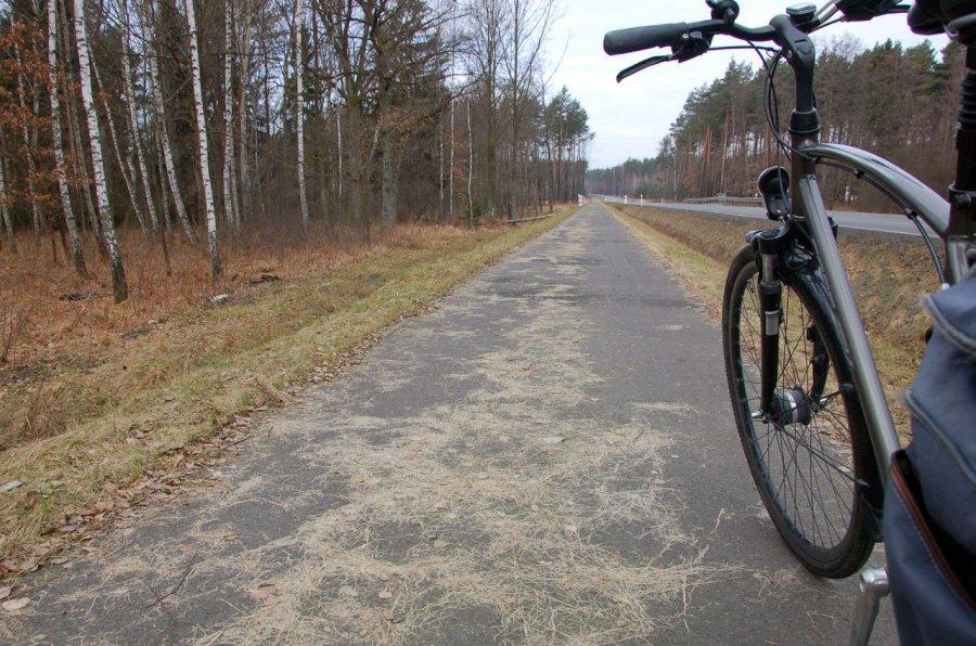 Pora posprzątać drogi rowerowe