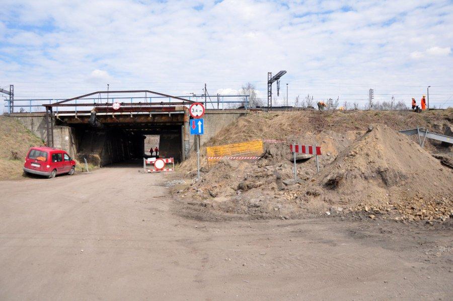 PKP otwiera przejazd pod wiaduktem na Dworcowej