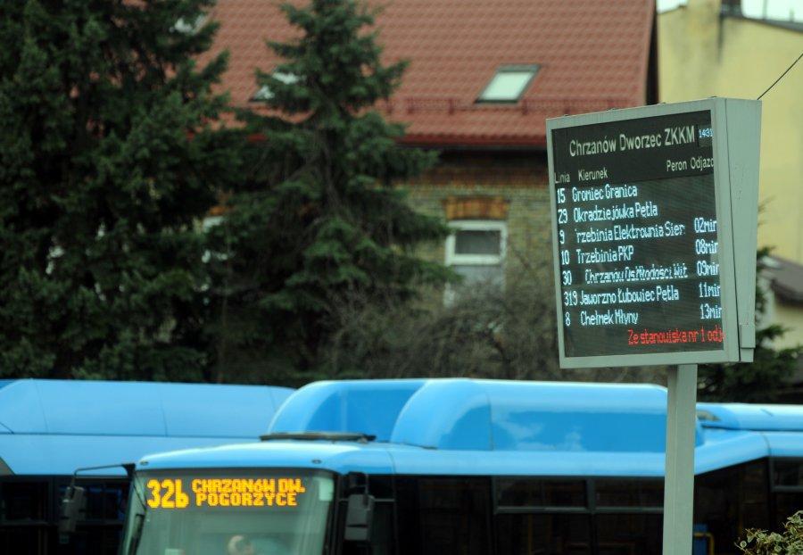 ZKKM zamontuje na przystankach tablice elektroniczne z rozkładami jazdy