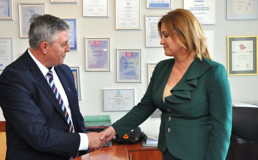 Grzegorz Żuradzki od dziś pełni funkcję burmistrza Trzebini
