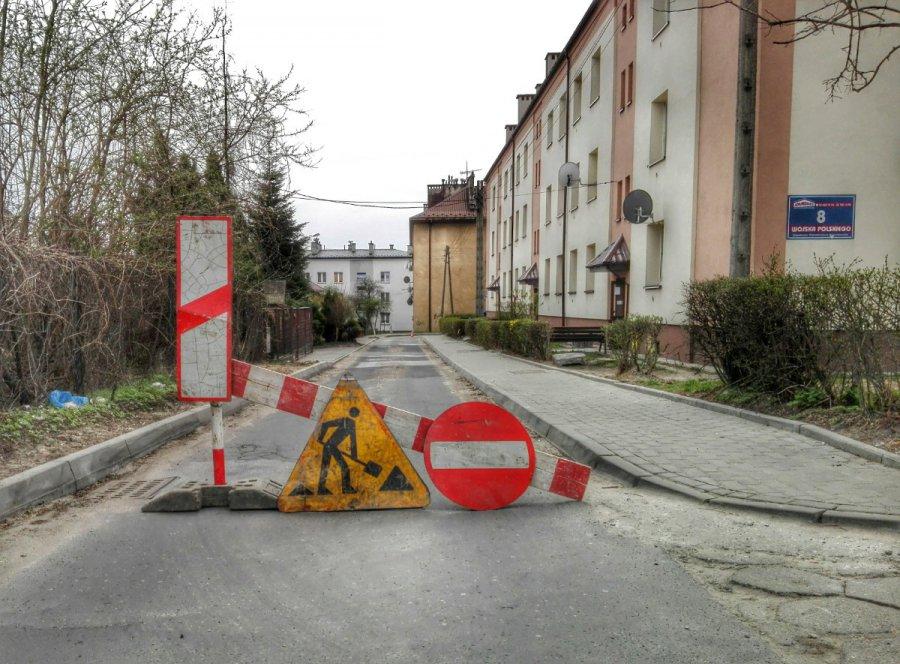 Droga na starym mieście będzie zamknięta codziennie od rana do popołudnia