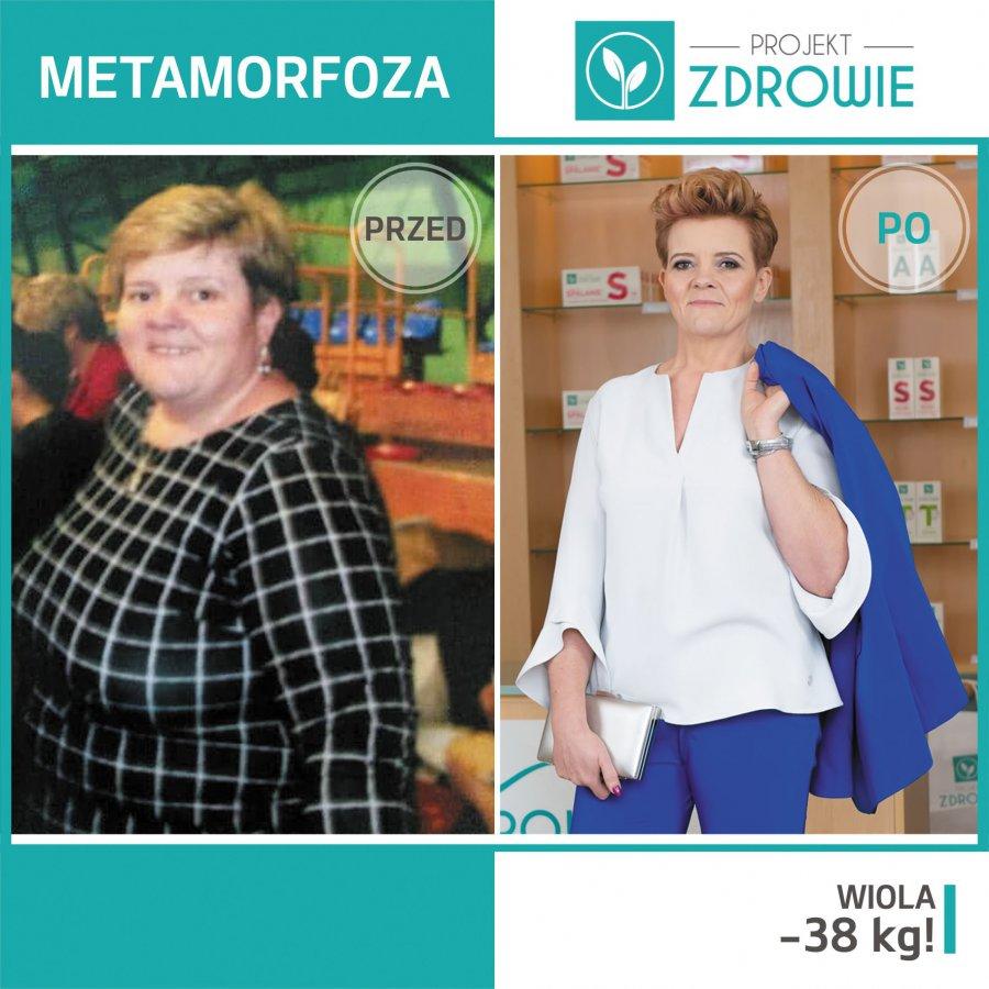 Pani Wioletta schudła 38 kg, zyskała nową sylwetkę i zdrowie