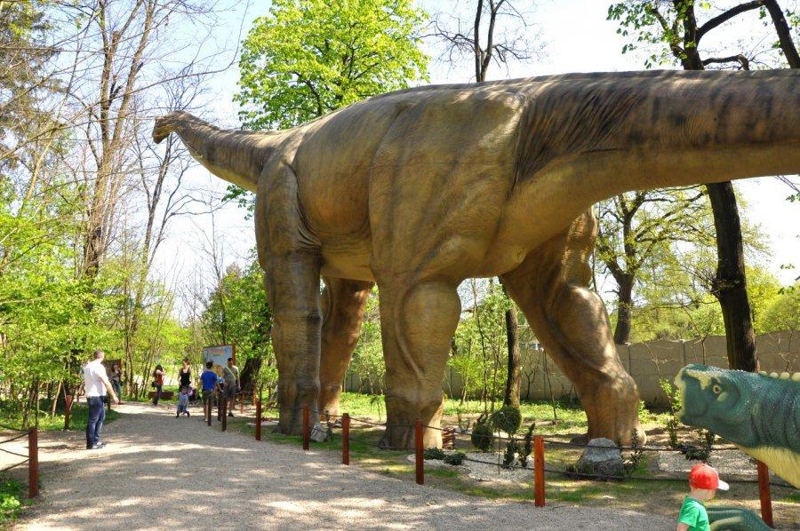 Zobacz największego na świecie ruchomego dinozaura